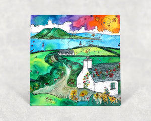 Bardsey Island Little Cottage Card