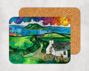 Bardsey Island Little Cottage Coaster
