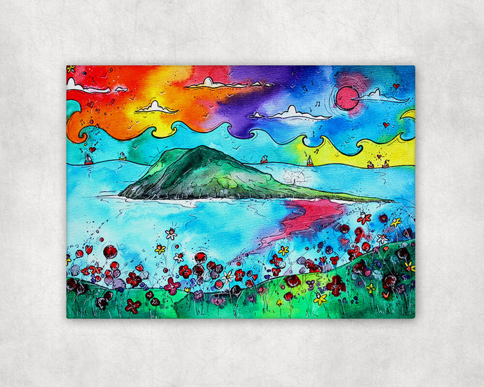 Secluded Bardsey Island Printed Canvas