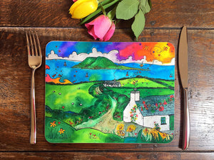 Bardsey Island Little Cottage Placemat