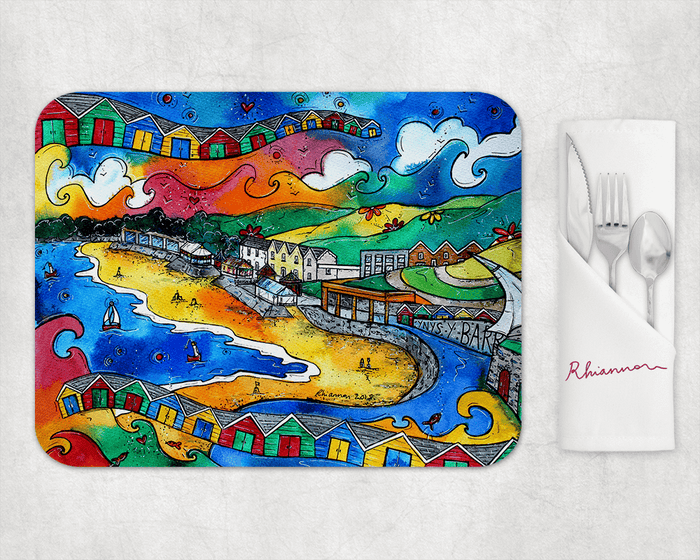 Barry Island Beautiful View Placemat