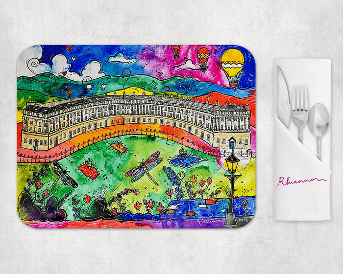 Bath Beautiful Crescent Placemat