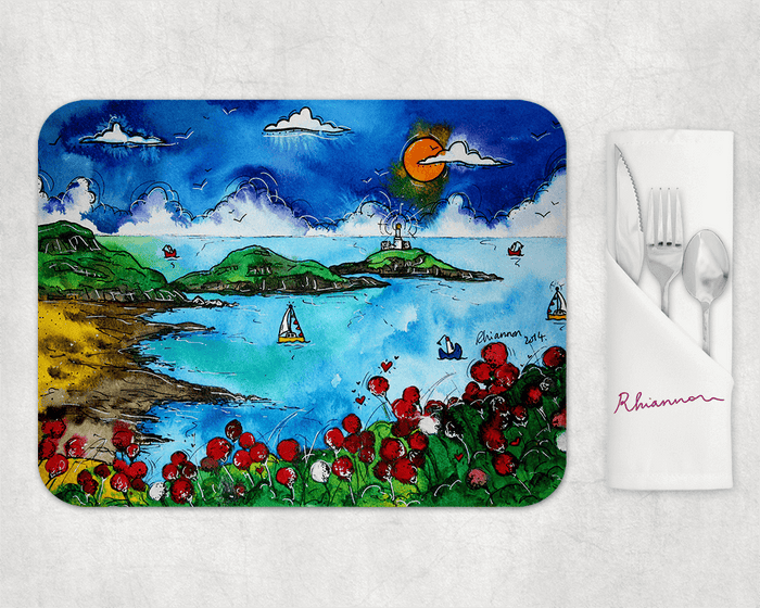 Bracelet Bay Beautiful Boats Placemat