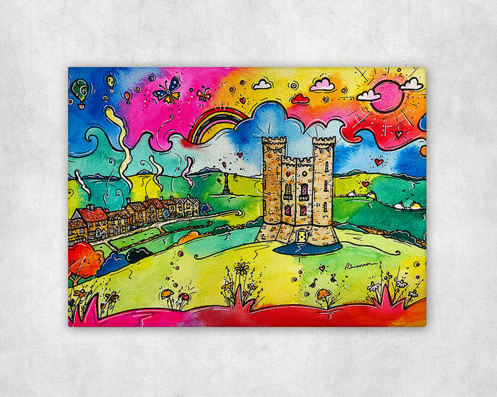 Broadway Sunshine (Cotswolds) Printed Canvas