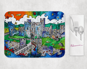 Caerphilly Mythical Castle Placemat