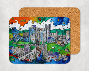 Caerphilly Mythical Castle Coaster