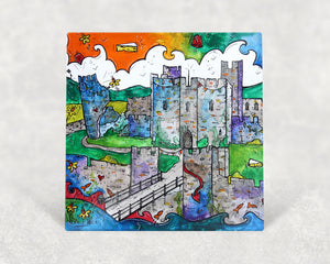 Caerphilly Mythical Castle Card