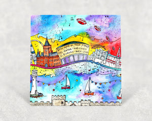 Cardiff City of Dreams Card