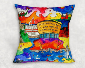Cardiff City of Hope Cushion Cover