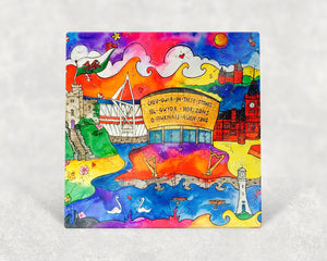 Cardiff City of Hope Card