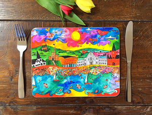 Cardiff Magical City Placemat