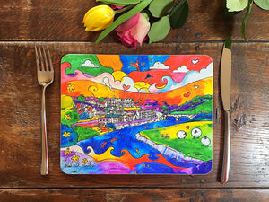 Carmarthen Happy Sheep Placemat