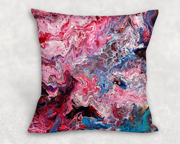 Perfect Pink Cells Cushion Cover