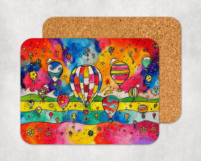 Colourful Balloons Coaster
