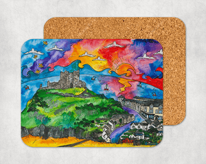 Criccieth Castle View Coaster