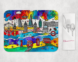 London City of Life Placemat