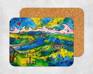 Menai Bridge Magic Coaster