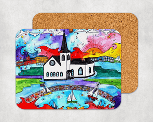 Cardiff Norwegian Church Coaster