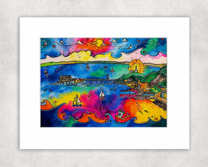 Mumbles Pier of Dreams Mounted Print