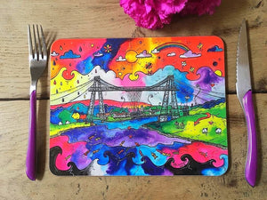 Newport Tremendous Transporter Bridge Placemat