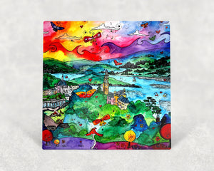Portmeirion Paradise Card