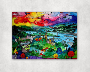 Portmeirion Paradise Printed Canvas