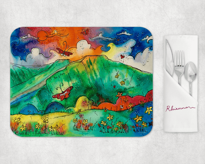 Pen Y Fan Perfect Mountain Placemat
