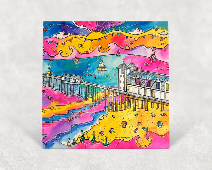 Penarth Pink Paradise Card