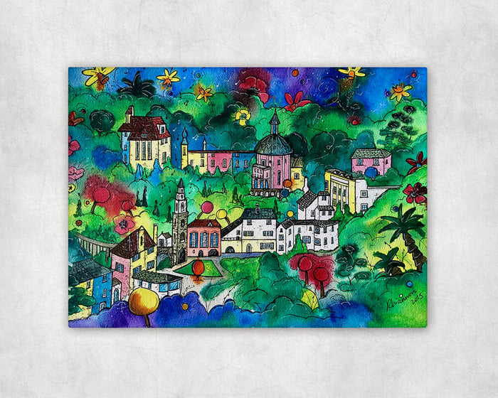 Portmeirion Hidden Rainbow Printed Canvas