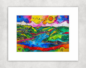 Solva Hidden Gem Mounted Print