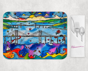Strong Bridges Placemat