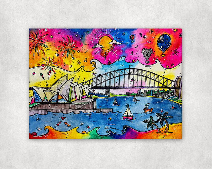 Sydney Celebrations Printed Canvas