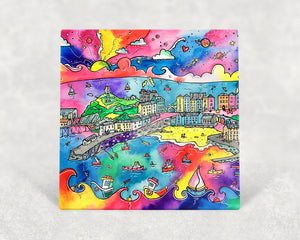 Tenby Charming Harbour Card