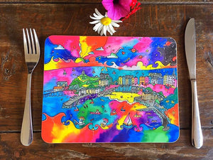 Tenby Charming Harbour Placemat