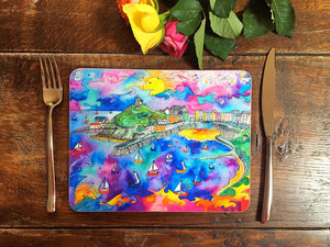 Tenby Purple Paradise Placemat