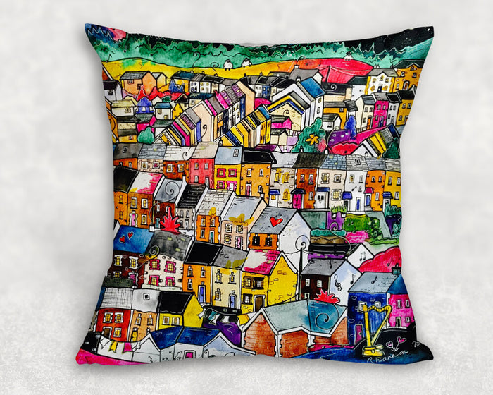 The Valleys Cushion Cover
