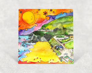 Tresaith Perfect Beach Card