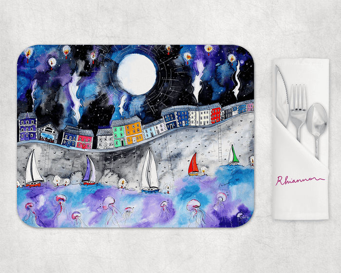 Aberaeron Starry Starry Night Placemat