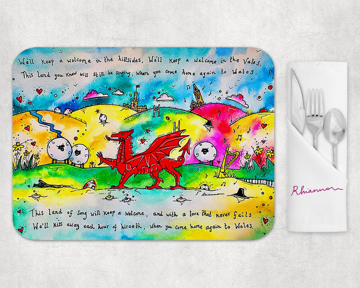 Colourful Hiraeth Placemat