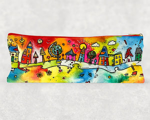 Happy Houses Pencil Case