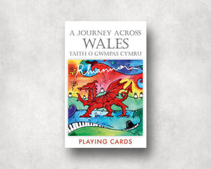 A Journey Across Wales Playing Cards
