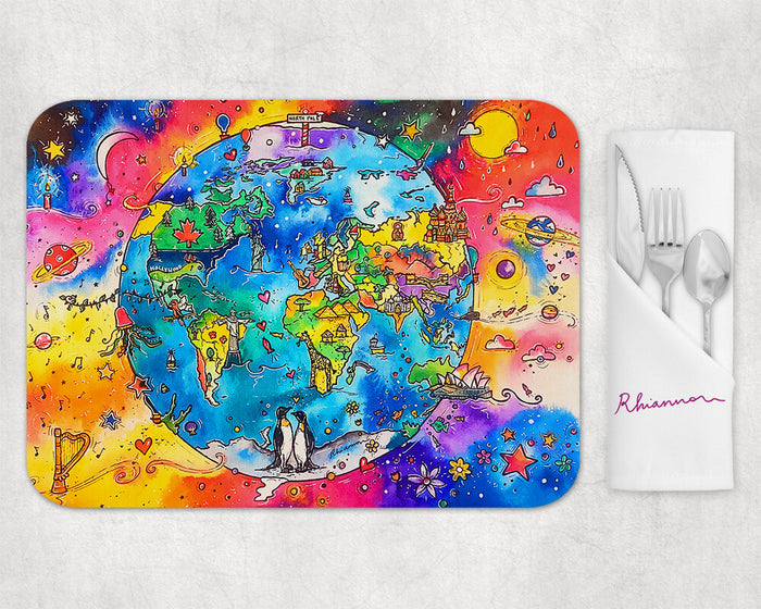 Our World Placemat