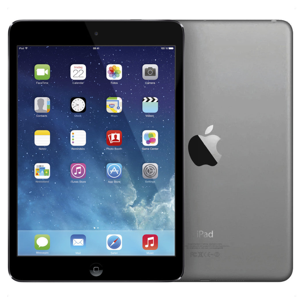 iPad mini 2 16GB Wi-Fi Space Gray - BEG - GOTT SKICK