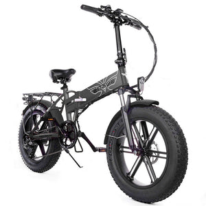 "Electric bike 48V12A Lithium Battery 20"" 4.0 fat Tire Snow e Bike Aluminum Folding 500W Powerful electric Bicycle Mountain ebike"