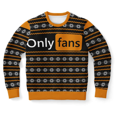 P*rnhub Style Onlyfans Ugly Christmas Sweater