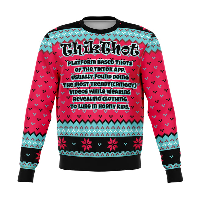ThikThot Ugly Christmas Sweater - OnlyClout