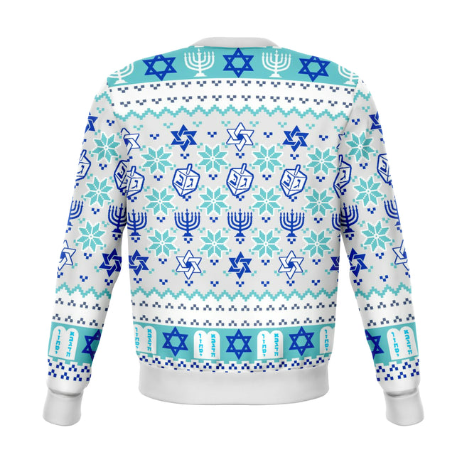 MY JEWISH UGLY CHRISTMAS SWEATER - OnlyClout