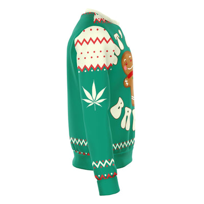 Get Baked Funny Ugly Christmas Sweater
