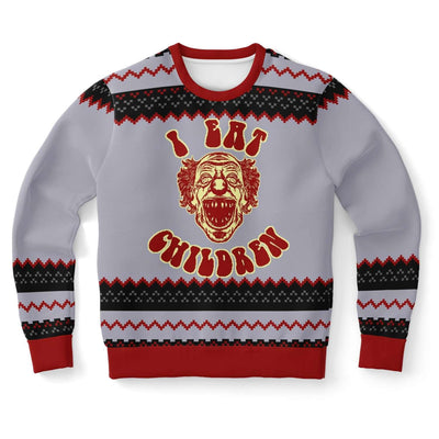 I Eat Children Ugly Sweater