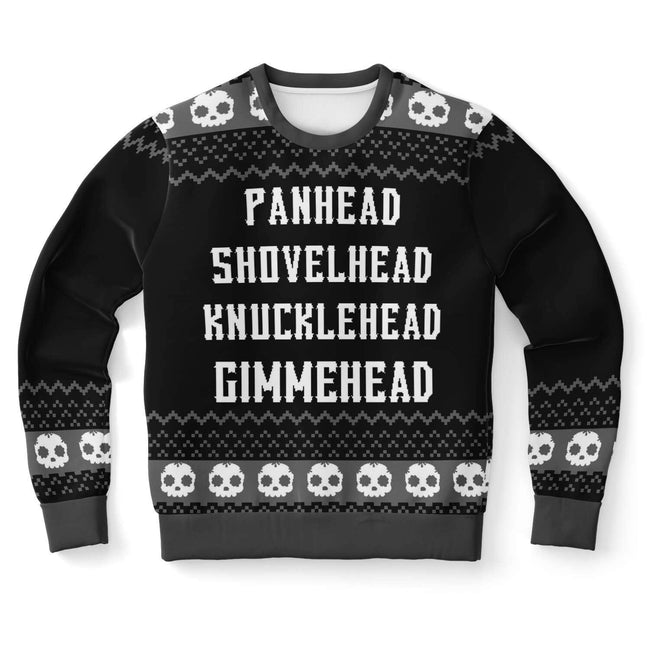 Gimhead Naughty Ugly Christmas Sweater - OnlyClout